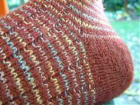 chaussettes talon