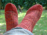 chaussette droite