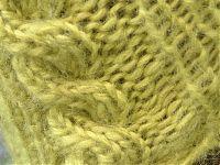 bonnet torsades detail