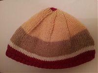 Bonnet version multicolore